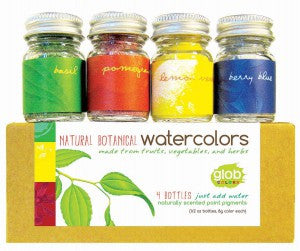 All Natural Watercolor Paint Set