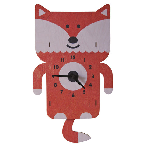 Fox 3D Pendulum Clock