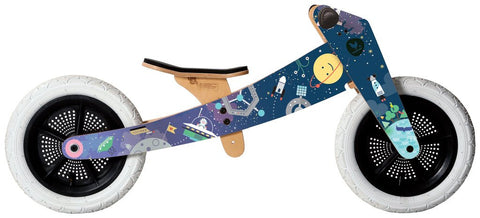 Wishbone 3-in-1 Bike- Limited Edition SPACE Theme