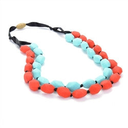 Chewbeads Astor Necklace- Cherry Red
