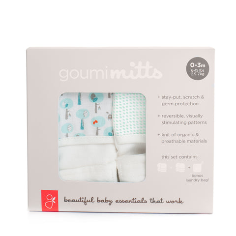 Organic Cotton Mitts 2-Pack