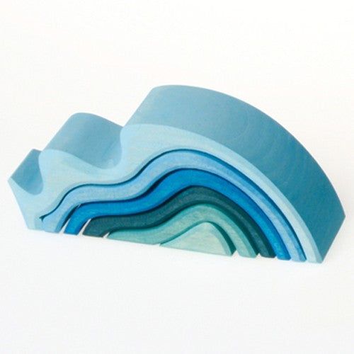 Grimm's Water Waves Wooden Nesting Toy