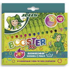 Jolly Booster Washable Markers- Box of 14