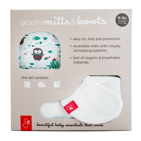 Organic Cotton Mitts & Boots Bundle