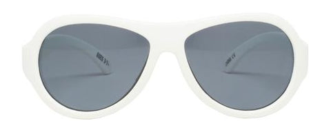 Babiators Classic Sunglasses- Wicked White