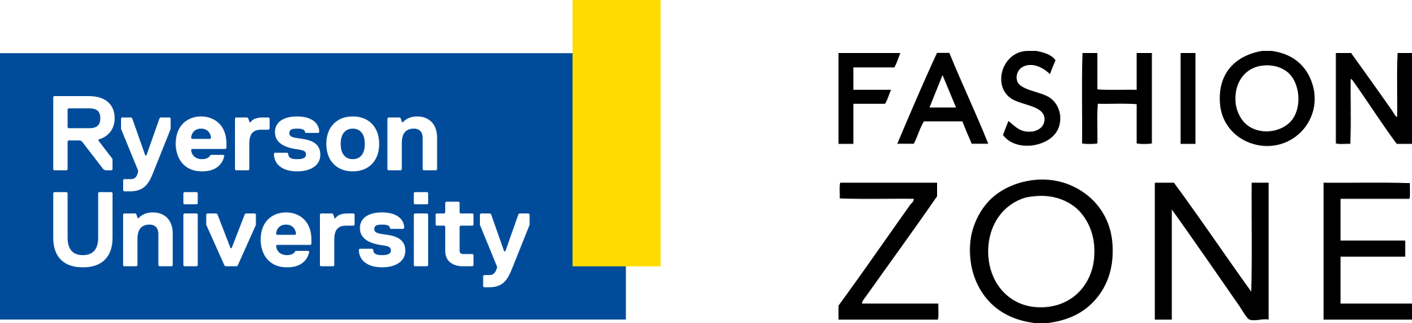Ryerson University Fashion Zone Logo