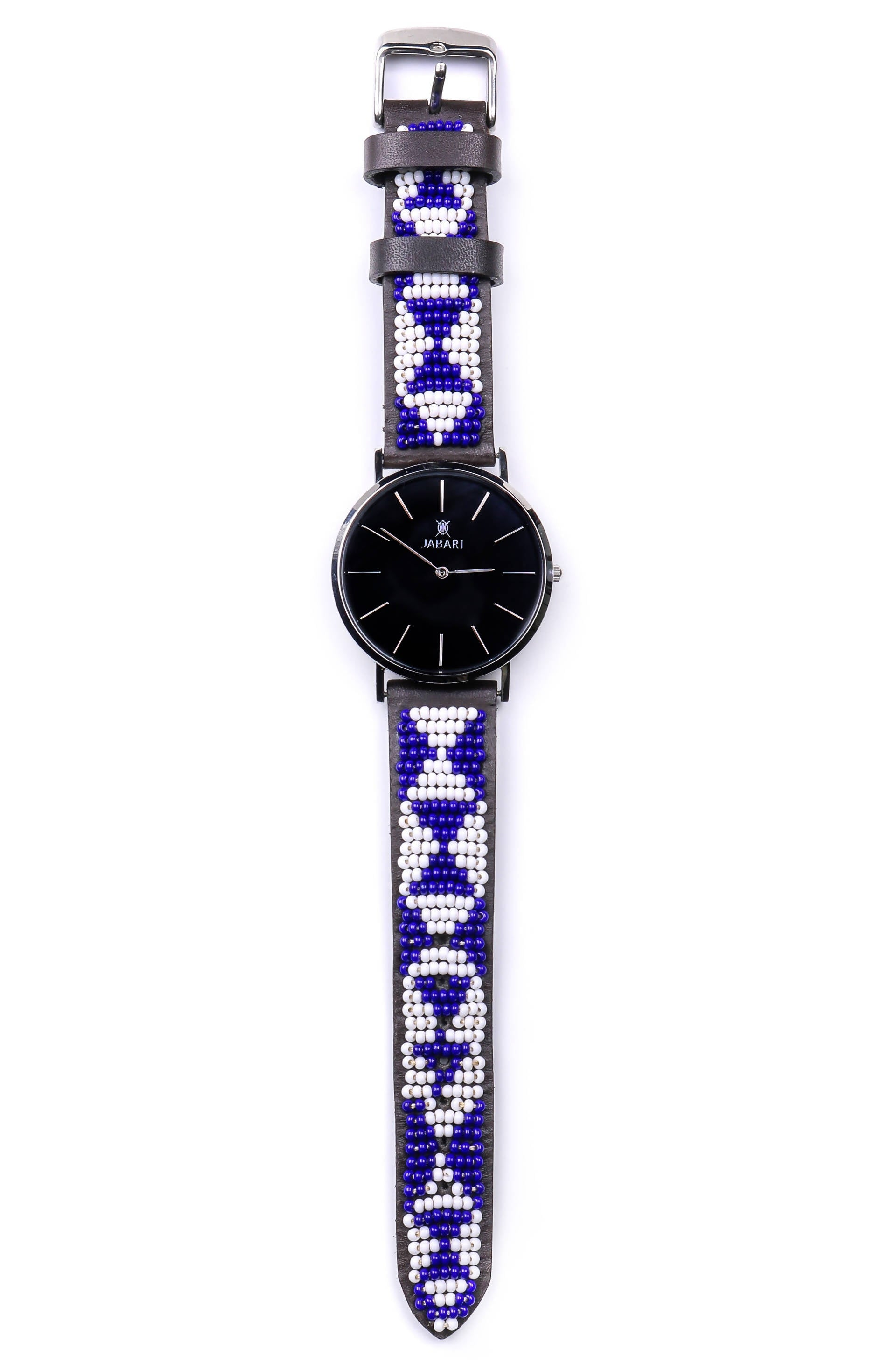CHUI | LEOPARD - Beaded Leather Watch