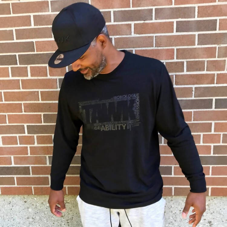 TAWK Blackout Long Sleeve Tee