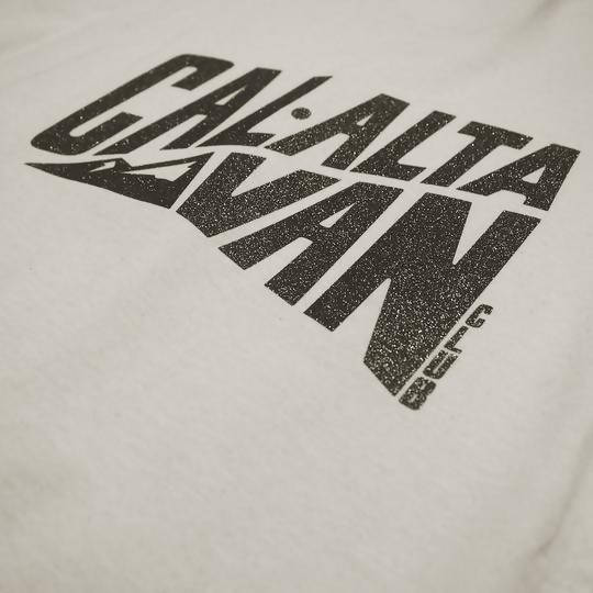 CAL-ALTA Van Club Signature Dyed T-Shirt - Bone / Asteroid Crystal