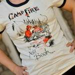Campfire Notebook - Retro Ringer Tee