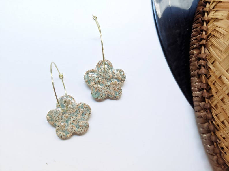 Ceramic Stoneware Earrings