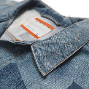 CAL-ALTA Van Club Revolt Patchless Denim Jacket - Sun Bleached