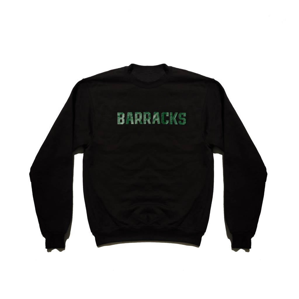 BRKS Crewneck Sweater BLK