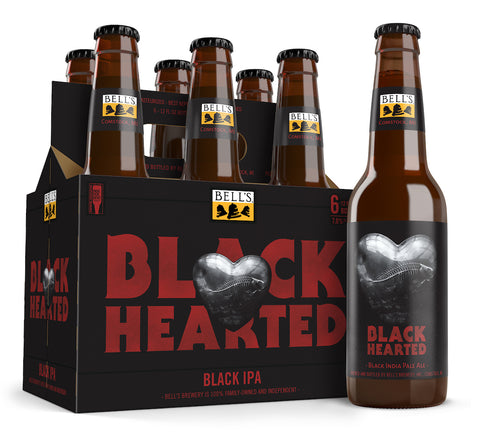 Black Hearted 12oz Bottle 6-Pack Includes Tax & Deposit