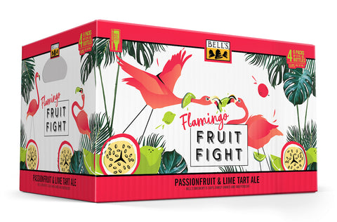 Flamingo Fruit Fight 12oz Bottle 24pk Case Includes Tax & Deposit