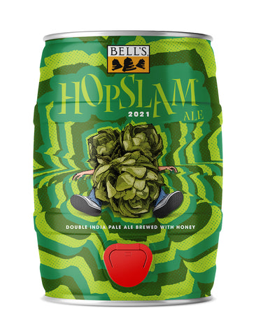 Hopslam Ale 5L Mini Keg Can Includes Tax