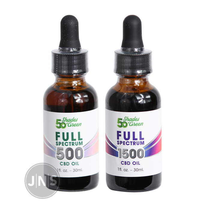 Full Spectrum CBD Oil - Fifty Shades of Green