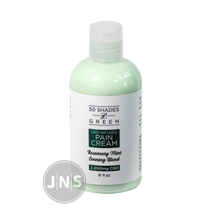 Hemp Pain Cream - Rosemary Mint - 2500mg -JNS Premium Brands - Hemp wholesale wellness