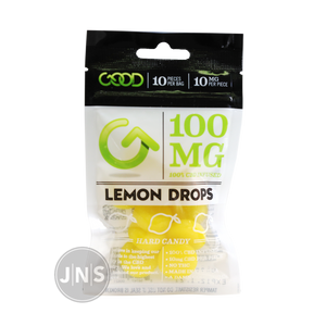 CBD Edibles 100mg - Lemon Drop - JNS Premium Brands - CBD Edibles Wholesale