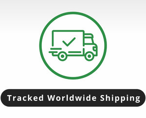 Tracked Worldwide shipping