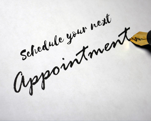 schedule your next appointment