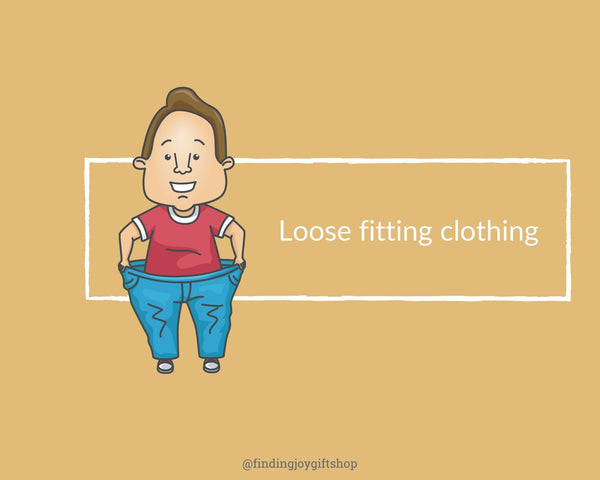 wear loose fitting clothing to acupucnture