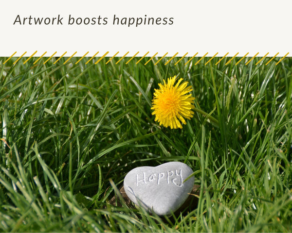 artwork boosts happiness