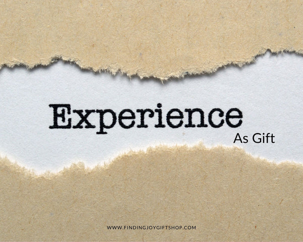 experience as gift