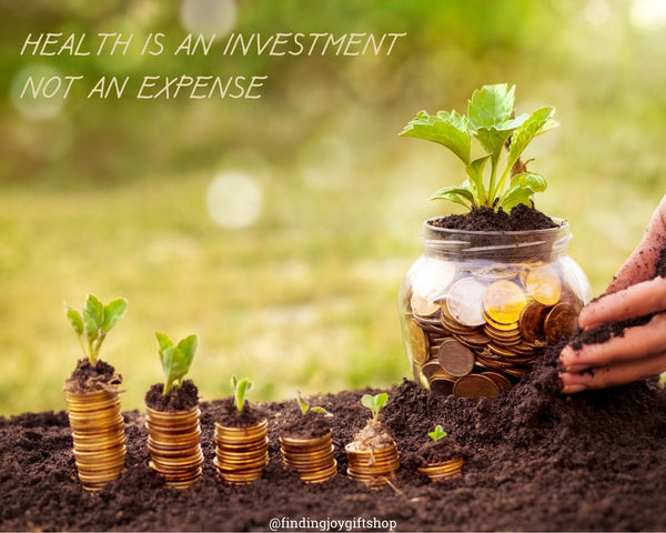 Health is an investment. not an expense