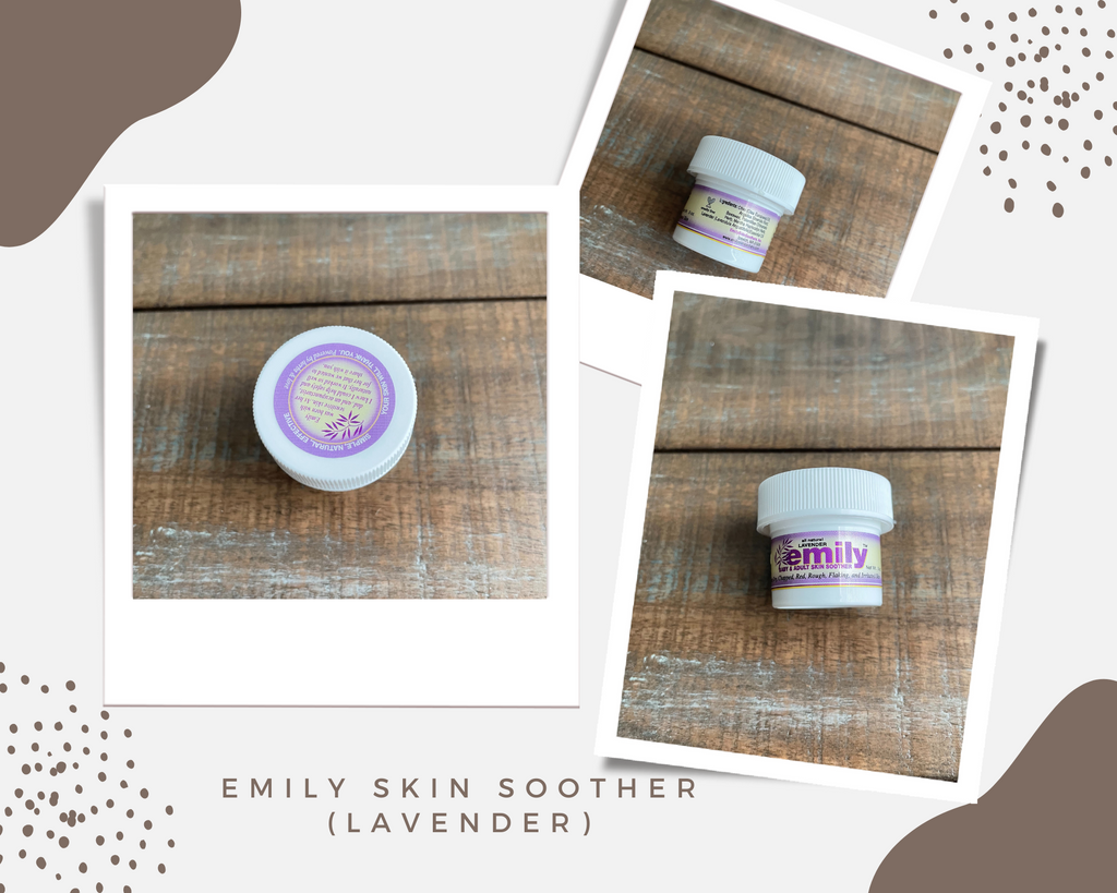emily skin soother lavender