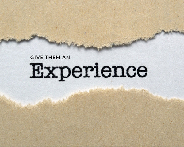 Give experience