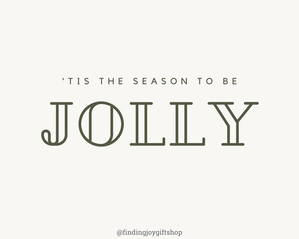 Time to be jolly