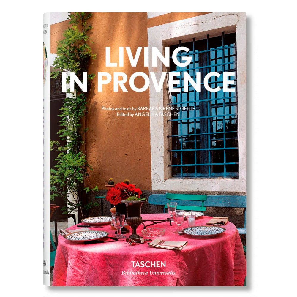 LIVING IN PROVENCE LIBRO