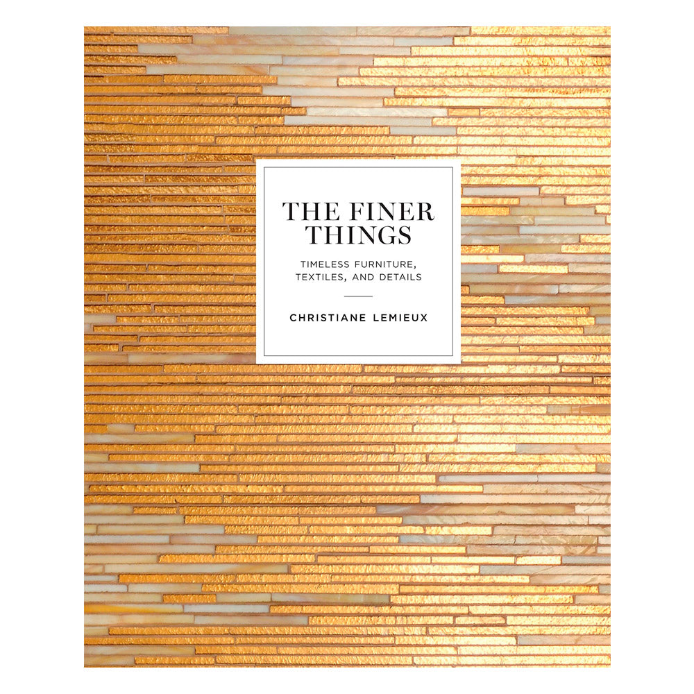 THE FINER THINGS LIBRO