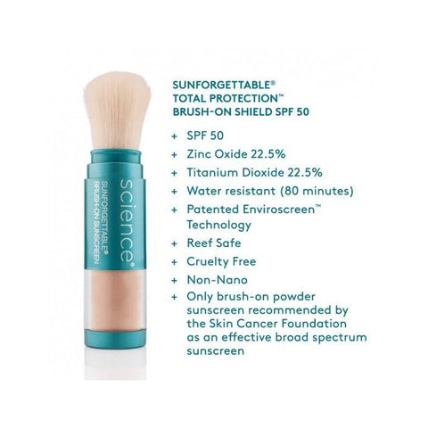 ColoreScience Sunforgettable® Total Protection Brush-On Shield - 3 Piece Multipack - Tan