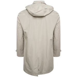 Harry Brown Stone Hooded Rain Mac