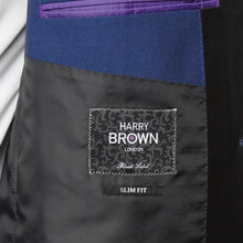Load image into Gallery viewer, Harry Brown Blue Two Piece Slim Fit Suit