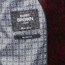 Load image into Gallery viewer, Harry Brown Party Blazer in Burgundy