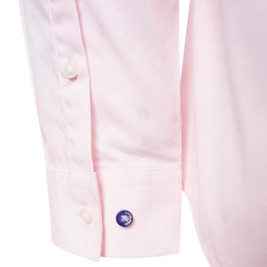 Harry Brown Cotton Shirt in Light Pink,