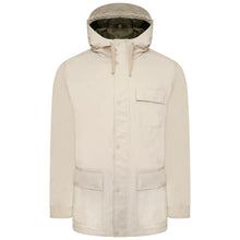 Load image into Gallery viewer, Harry Brown Stone Cotton Hooded King size Coat RRP £129