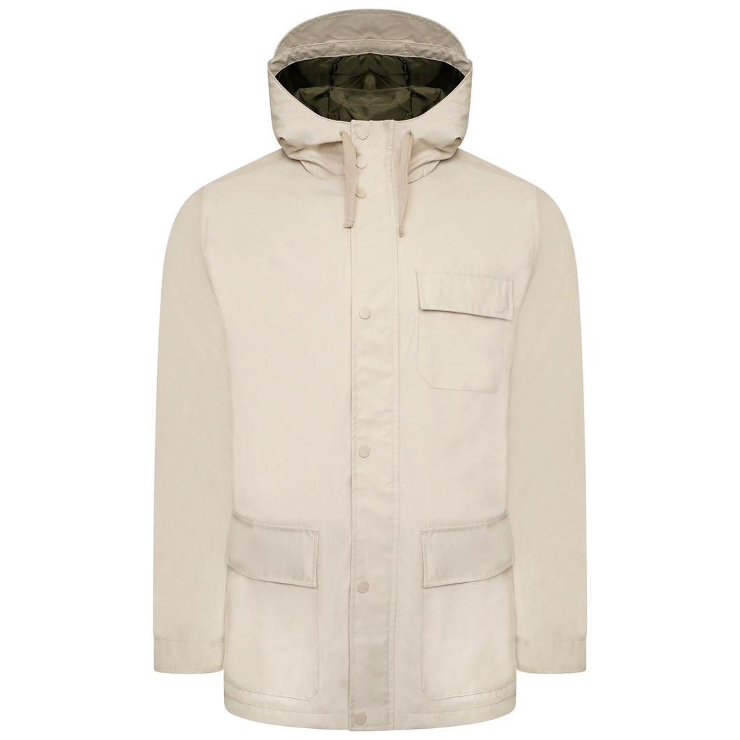Harry Brown Stone Cotton Hooded King size Coat RRP £129