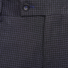 Load image into Gallery viewer, Penguin Trousers in Navy/Black Check