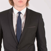 Load image into Gallery viewer, Harry Brown Black Two Piece Tailored Fit Dinner Suit