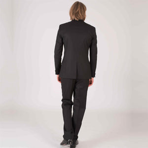 Harry Brown Black Two Piece Tailored Fit Dinner Suit