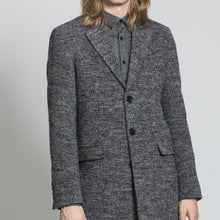 Load image into Gallery viewer, Sawyers + Hendricks Grey Wool Overcoat