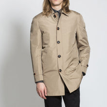 Load image into Gallery viewer, HARRY BROWN Toffee Rain Mac with Detachable Lining
