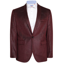 Load image into Gallery viewer, Harry Brown Raspberry Party Blazer
