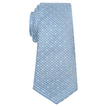 Load image into Gallery viewer, Penguin Silk Sky Blue Spot Tie