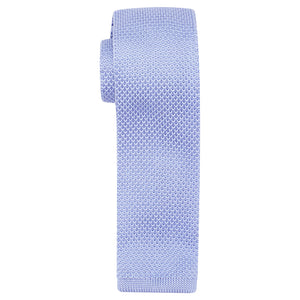 Harry Brown Arthur Sky Blue Knitted Tie