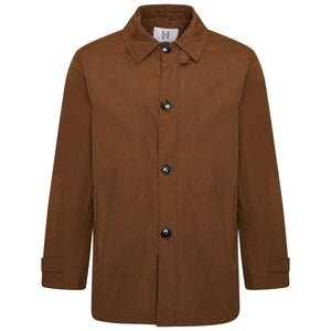 Harry Brown Raincoat in Walnut